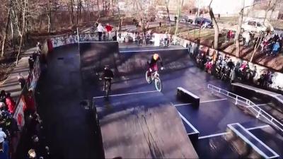 У Чернівцях відкрили скейт-парк за півтора мільйона гривень