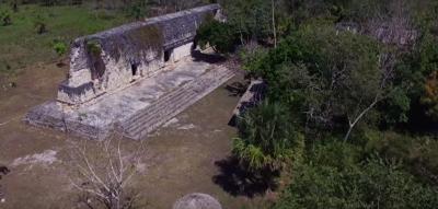 У джунглях знайшли великий палац майя, якому більше тисячі років