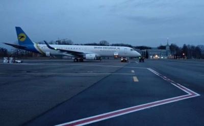 Відправку літака «Київ–Чернівці» знову скасували через негоду