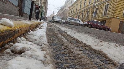 Другий день снігу – перші синці. Блог Юлії Пацаранюк