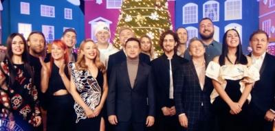 У новорічному привітанні Зеленського знялись Винник, Потап і Дзідзьо – відео