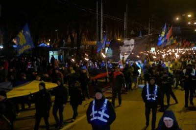 У Києві відбулася смолоскипна хода до дня народження Бандери
