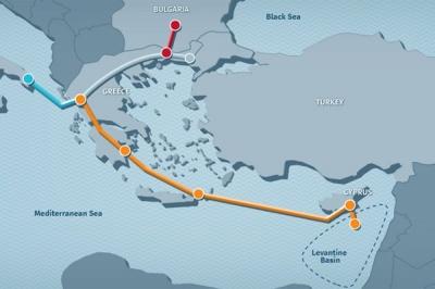 Кіпр, Греція та Ізраїль домовилися про будівництво газопроводу EastMed