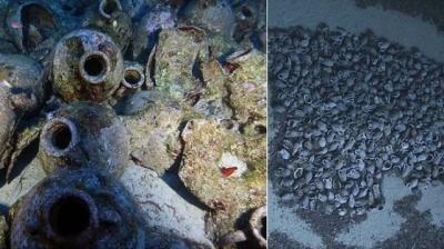 В Іонічному морі знайшли корабель часів Ісуса Христа
