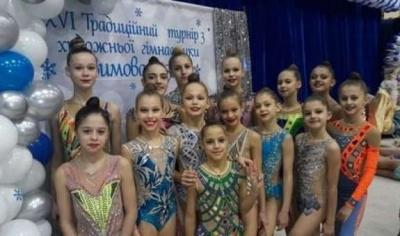 Буковинка стала переможницею міжнародного турніру з художнього гімнастики