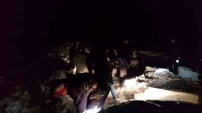 На Буковині 24 людини майже вісім годин перебували у сніговій пастці