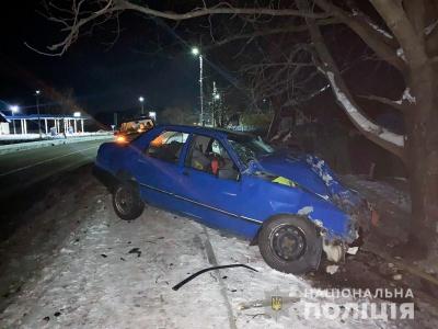 На Буковині п'яний водій злетів з дороги, серед постраждалих – дитина