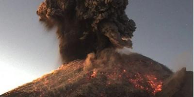У Мексиці прокинувся найактивніший вулкан Попокатепетль