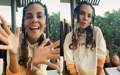 Настя Каменських вразила зміною зачіски - фото