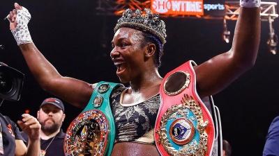 Американська боксерка побила світовий рекорд Ломаченка