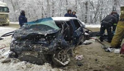 В ДТП с украинцами в России погибли три человека