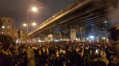 Протести у Тегерані через збиття літака МАУ: поліція застосувала силу