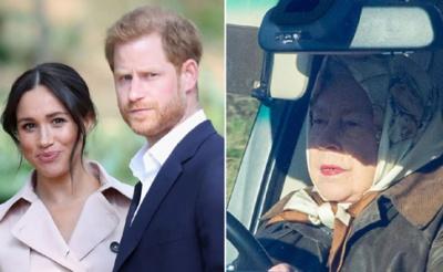 Королева Британії скликає кризову нараду через принца Гаррі та Меган Маркл