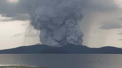 Жителів Маніли евакуюють через пробудження вулкана Таал