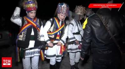 В Красноильске началась традиционная Маланка - видео
