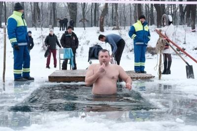 Чи можна змити гріхи купанням на Водохреща: пояснює ПЦУ
