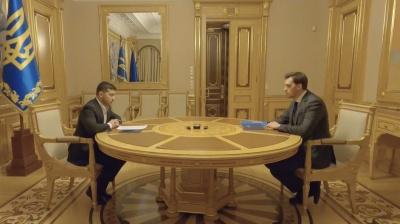 Зеленський відмовився прийняти заяву про відставку Гончарука