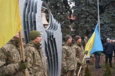 """У Чернівцях вшанували пам'ять загиблих """"кіборгів"""" - фото"""