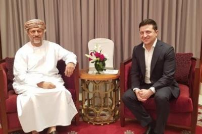 МЗС обіцяє пояснити навіщо Зеленський їздив в Оман. Але свого часу