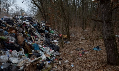 Львівське сміття - в лісі на Буковині: у міськраді проведуть розслідування