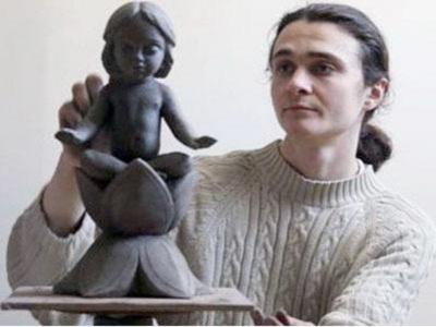 Виставка скульптур  Олексія Леонова