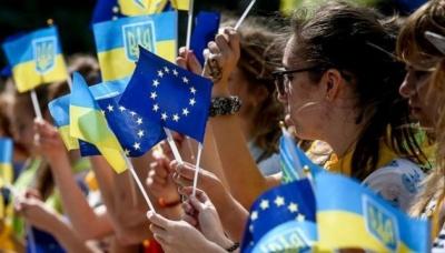 Опитування: 64% українців підтримують вступ країни до ЄС