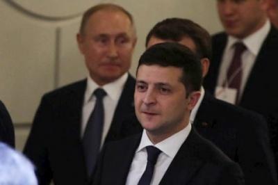 Пєсков: Зеленський та Путін навіть не привітали один одного