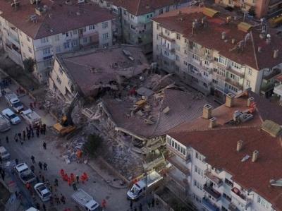 У Туреччині стався землетрус: більше 20 загиблих, зруйновано близько 30 будівель