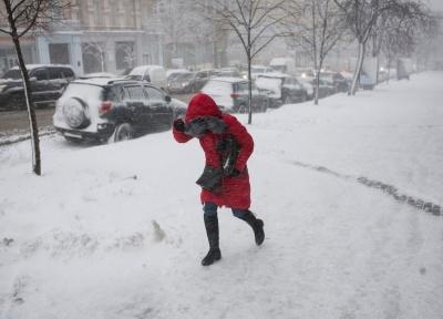 В Украине объявили штормовое предупреждение на последние дни января