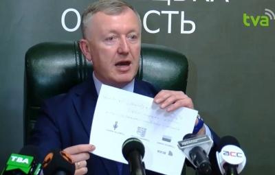 Осачук заявив, що автопарк ОДА «викачує» корупційні гроші на 20-річний «металобрухт»