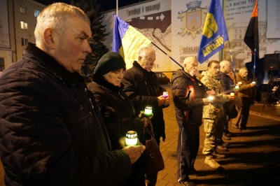 У Чернівцях з нагоди вшанування пам'яті Героїв Крут відбулося Віче - фото