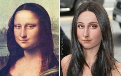 Як би виглядали Цезар, Мона Ліза та інші, якби жили у наш час