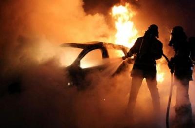 На Буковині за добу згоріли дві автівки