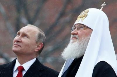 Патріарх Кирило пропонує вписати в Конституцію Росії згадку про Бога