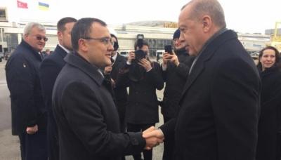 В Україну з офіційним візитом прибув президент Туреччини