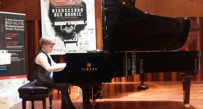 Юний піаніст з Буковини став переможцем міжнародного конкурсу в Польщі