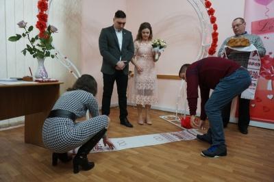 У Чернівцях 11 пар хочуть одружитись на День Валентина