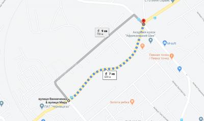 У Чернівцях повністю перекриють рух транспорту на ділянці вулиці Винниченка
