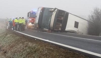У Чехії перекинувся автобус, який перевозив 70 дітей. Багато постраждалих