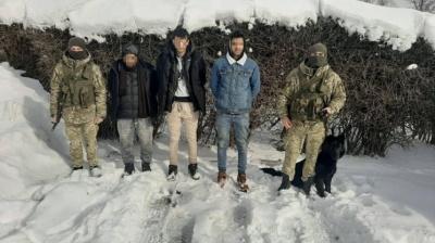 У горах Буковини затримали трьох іноземців-нелегалів
