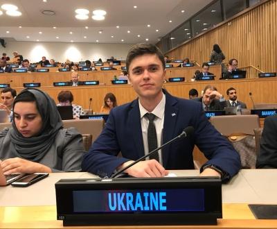 Аспірант ЧНУ представить Україну в Раді Європи