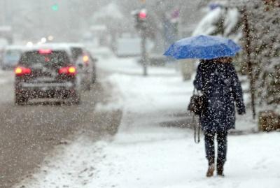 Зимова негода на Буковині залишила без електрики три населені пункти