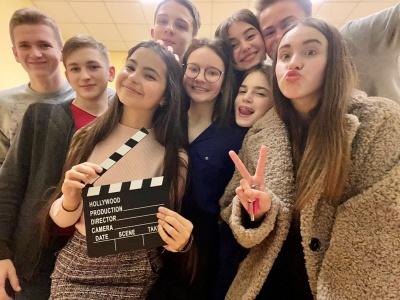Зняли серіал про школу: учні з Чернівців взяли участь у проєкті «Шкільне реаліті–2»