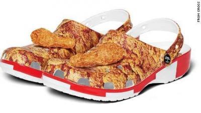 KFC створить взуття із запахом курки