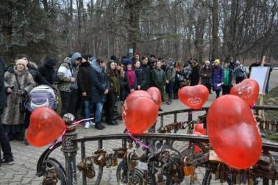 Як відсвяткували День закоханих у Чернівцях - фото