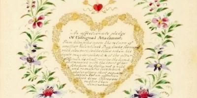 """""""Ніжна обіцянка щирої прихильності"""": У Великій Британії знайшли двохсотлітню валентинку"""