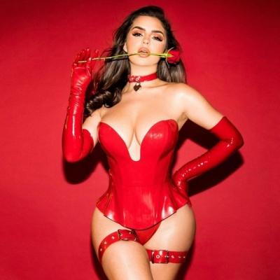 Гаряча валентинка: Демі Роуз шокувала сексуальними фото