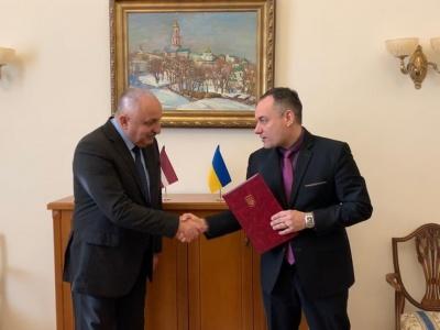 Ілля Хочь став почесним консулом Латвії в Чернівецькій області