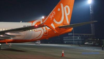 """Літак із евакуйованими українцями з Китаю приземлився у аеропорту """"Бориспіль"""""""