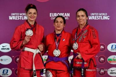 Чернівчанка стала призеркою чімпіонату Європи з греплінгу